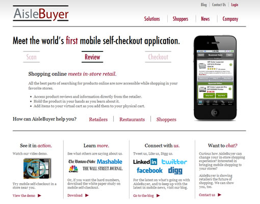 AisleBuyer home page