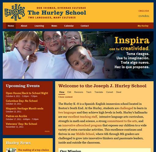 Joseph J. Hurley School homepage