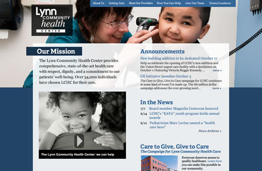 Lynn Community Health Center home page